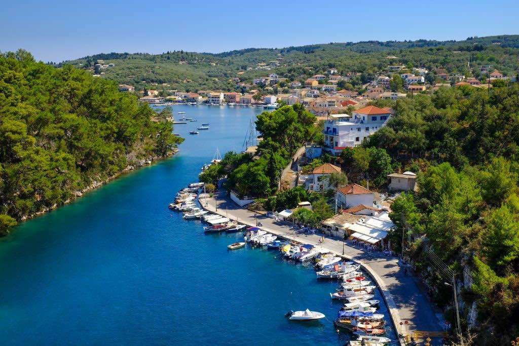 Gaios-Paxos-Vela Grecia Ionica-Corfù