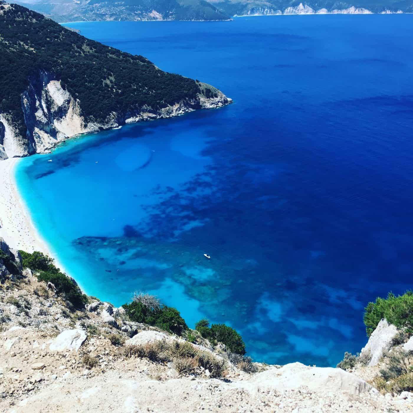 Sailing in Ioninan Greece